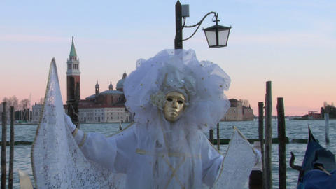 venetian mask 12 Stock Video Footage