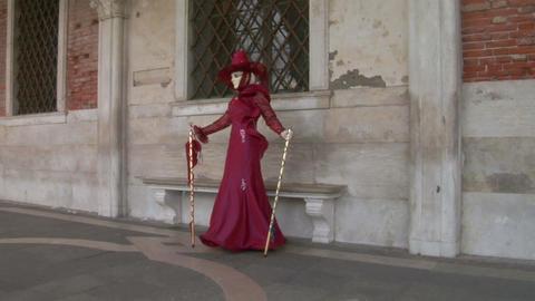 venetian mask 32 Stock Video Footage