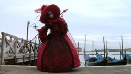 venetian mask 71 Stock Video Footage