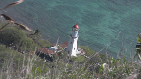 Diamond Head Lighthouse 02 Footage