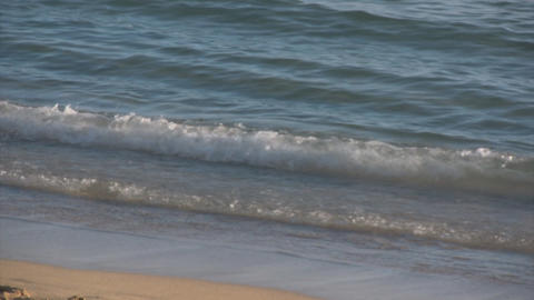 Evening Waikiki Beach Stock Video Footage
