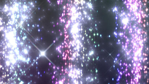 Light Water Fall 4 1 R HD Stock Video Footage
