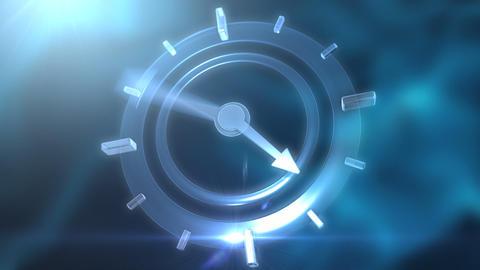 Clock CG動画素材