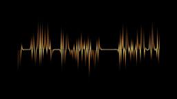 Audio spectrum orange Animation