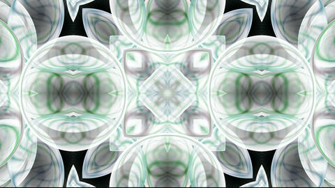 transparent glassy flower pattern,crystal glass... Stock Video Footage