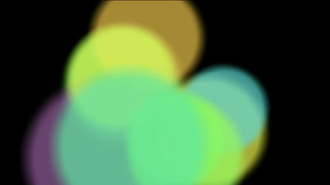 circle light,defocused circle lights drifting downwards,drugs,egg,bubble,oxygen, Animation