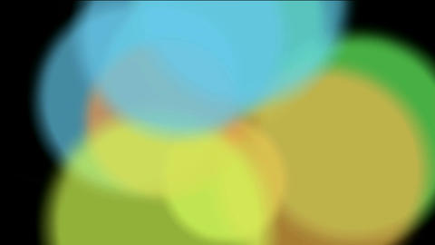 circle light,defocused circle lights drifting... Stock Video Footage