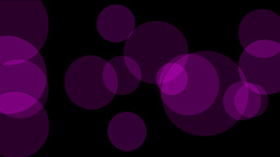 purple circle light,defocused circle lights drifting downwards,cells,drugs Animation