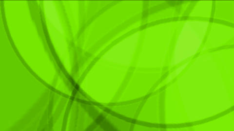 Green Circle Light,defocused Circle Lights Drifting Downwards. stock footage