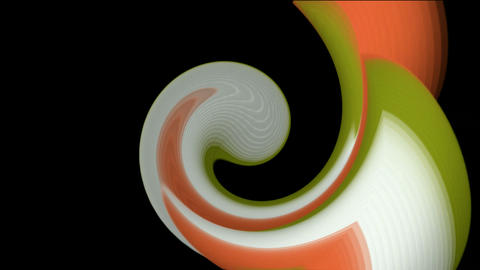 swirl circle in space,rotation curve round,ocean waves,an... Stock Video Footage