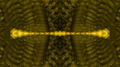 golden metal shield,retro banner,gold belt,ancient chain... Stock Video Footage