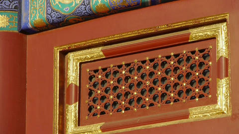 China Beijing ancient architecture.Magnificent Painted... Stock Video Footage