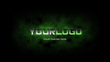 3D Logo Reveal stock footage