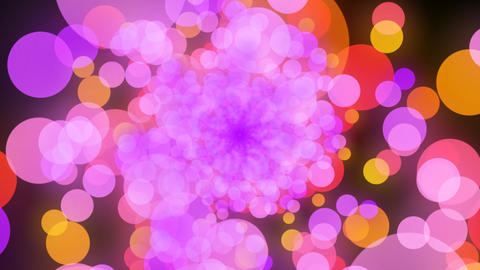 radial color with alpha Stock Video Footage