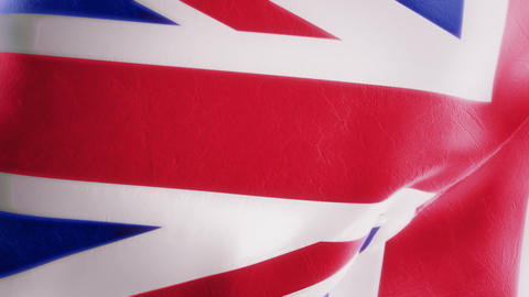 Slow Motion British Flag Intro Animation