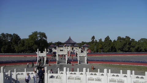 Beijing worship altar,China's royal ancient architecture Footage