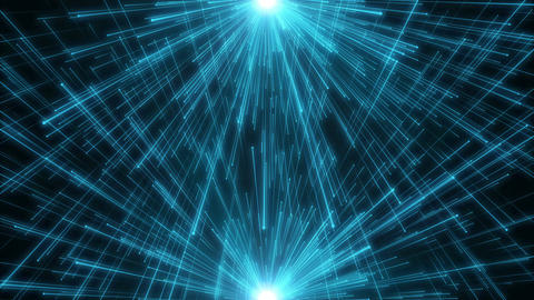 Fiber network titles technology science abstract background loop 07 Animation