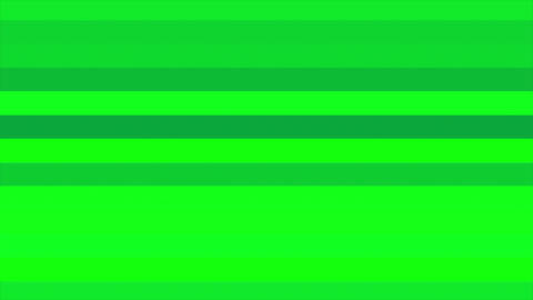 Green Horizontal Bars Stripes Shifting Cycle Abstract Motion Background Loop Animation