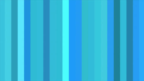 Blue Vertical Columns Stripes Shifting Cycle Abstract Motion Background Loop CG動画素材