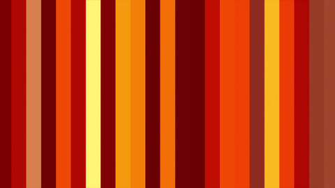 Warm Red Vertical Columns Stripes Shifting Cycle Abstract Motion Background Loop Animation