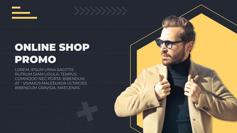 Online Shop Promo After Effects Template