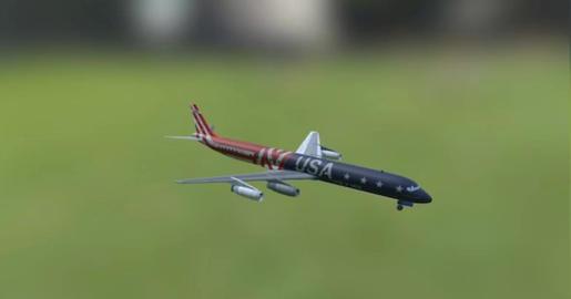 Dc 8 3D Model