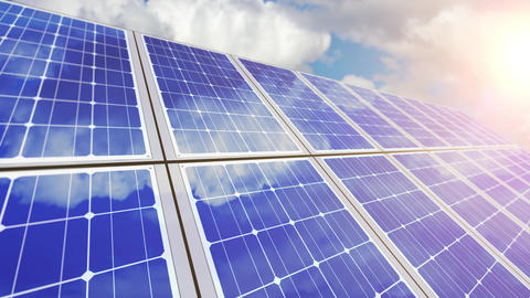 Solar Panel And Airplane Animations 0