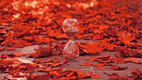 Sand Glass Or Hourglass