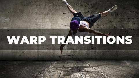Warp Transitions Apple Motion Template