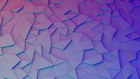 Minimal Geometric Motion Backdrop With Triangles Animation