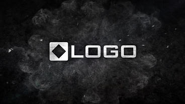 Dynamic Dark 3D Business Metal Logo Reveal Impact Slam Intro Animation Stinger Plantilla de After Effects