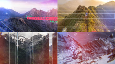 Festive Parallax After Effects Template