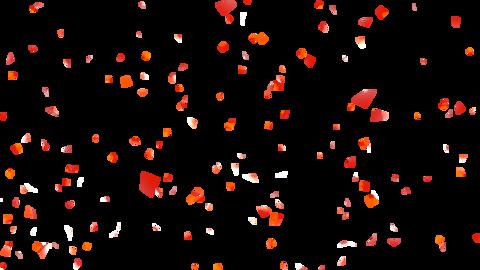 Confetti Colorful Single Color