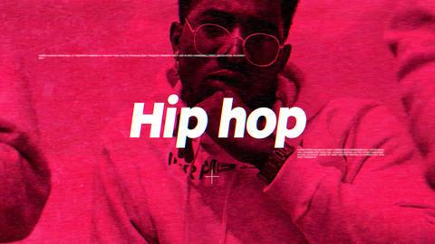 Dynamic Hip Hop Slideshow Apple Motion Template