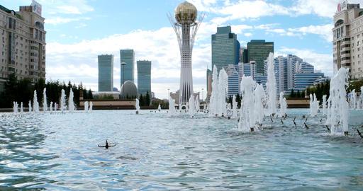 Baiterek - The central point of interest of the new Astana Live Action