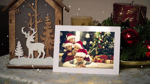 Beautiful Christmas Slideshow After Effects Template