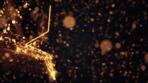 Illumination Line Star Glow Particle Background Animation