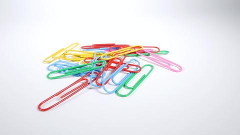 Color paper clip004 Live Action