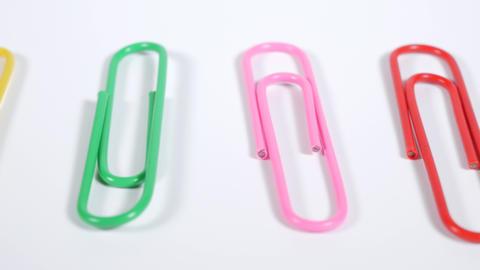 Color paper clip011 Live Action