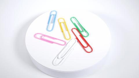 Color paper clip017 Live Action