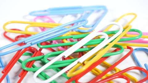 Color paper clip020 Live Action