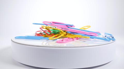 Color paper clip022 Live Action