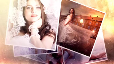 Memories Polaroid Slideshow After Effects Template