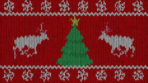 Knitted Holidays Loop Videos animados