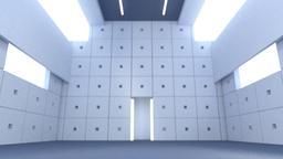 [alt 3d] concrete hall(c4d)
