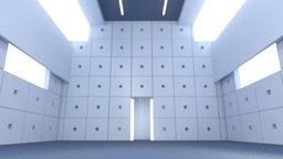 concrete hall(c4d) 3Dモデル