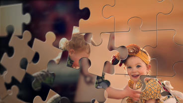 Jigsaw Puzzle Show After Effects Project