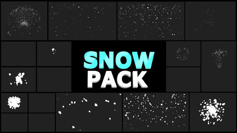 Cartoon Snowflakes
