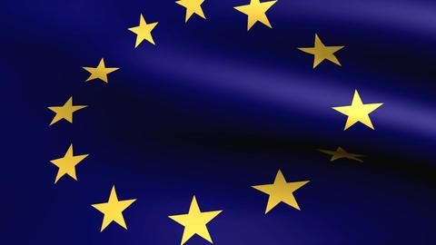 Flagge Europäische Union Animation