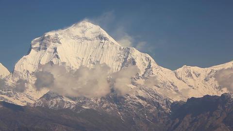 Dhaulagiri Peak Aircraft Footage